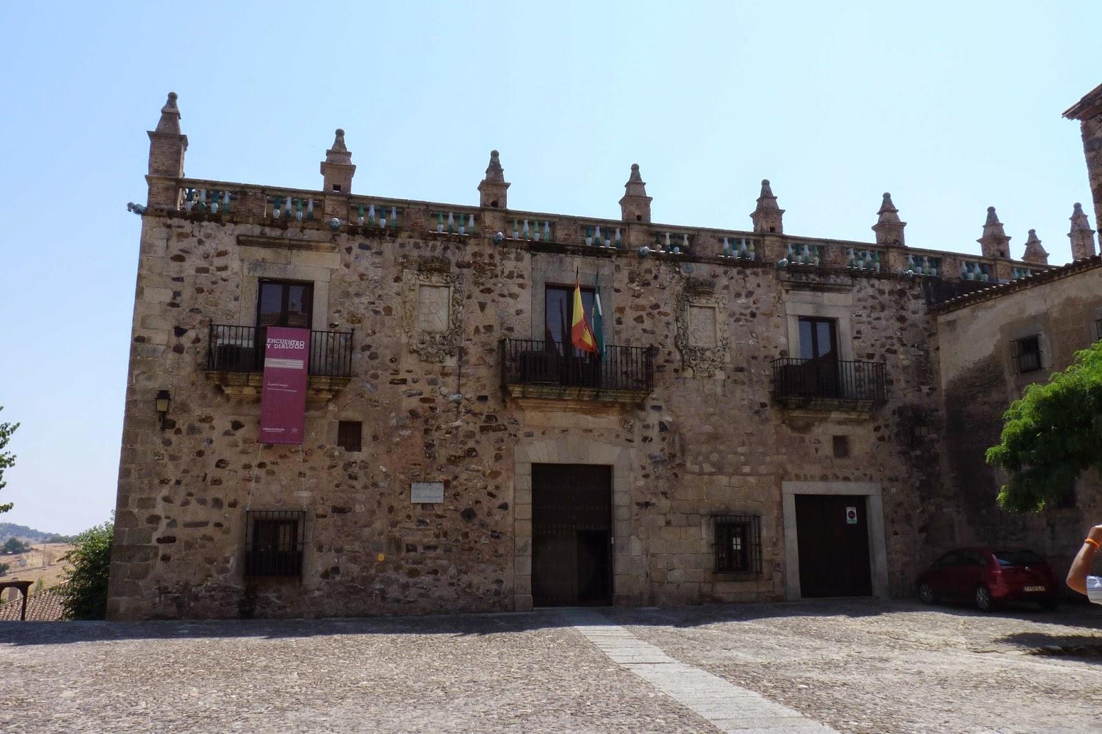 Cáceres, Plaza de las Veletas, Palacio del Aljibe o de las Veletas.