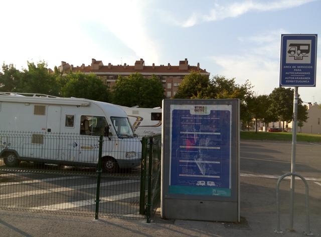Àrea d'autocaravanes de Vitoria-Gasteiz