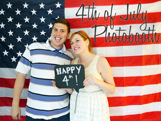 Kristina Does The Internets Easy 4th Of July Photobooth
