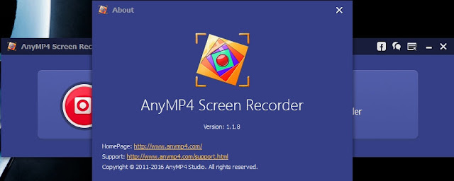 AnyMP4 Screen Recorder 1.1.8 Final
