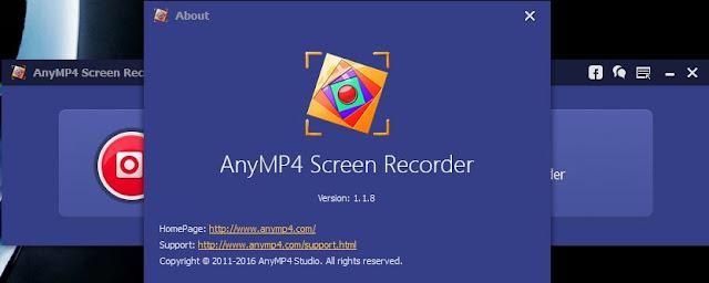 AnyMP4 Screen Recorder 1.1.8 Final