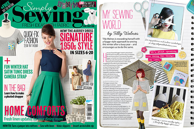 Simply Sewing - December 2016 Issue 24
