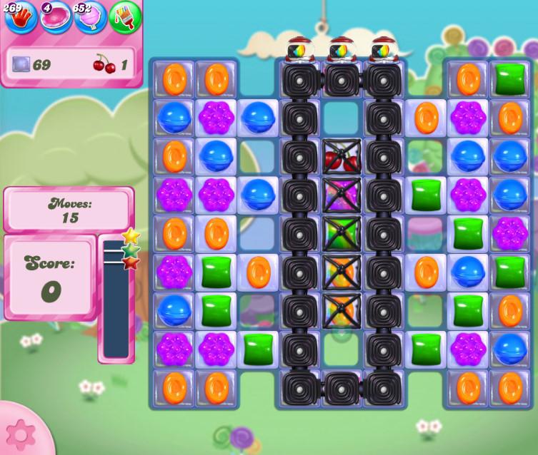 Candy Crush Saga level 2675