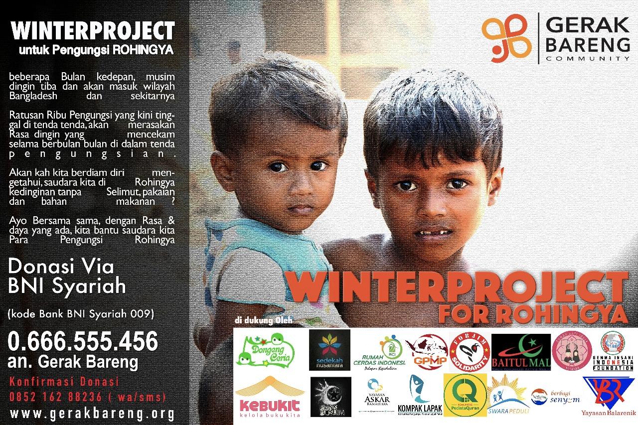 Musim Dingin Para Pengungsi Rohingya