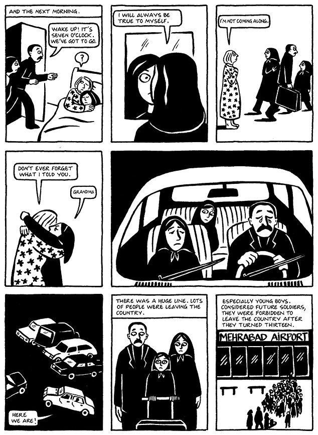 Read Chapter 19 - The Dowry, page 149, from Marjane Satrapi's Persepolis 1 - The Story of a Childhood