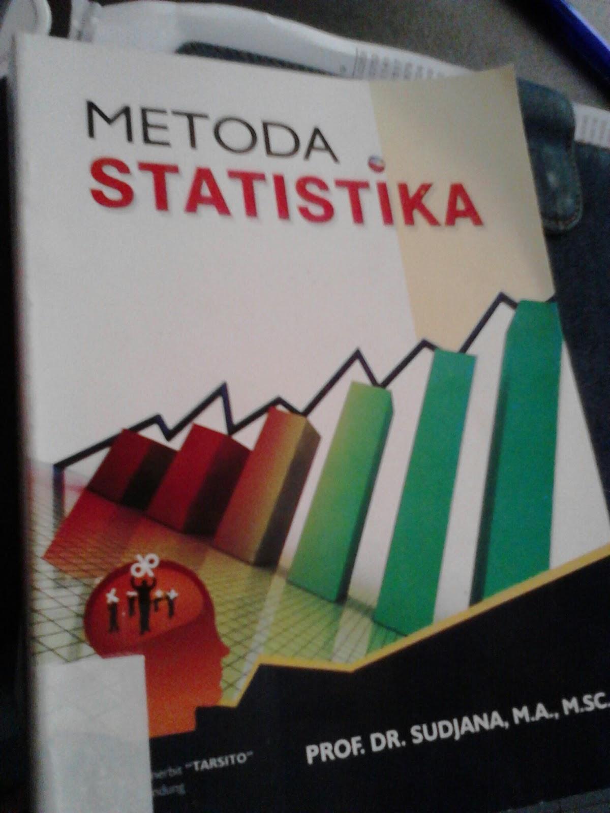 Ebook Metode Statistika Sudjana