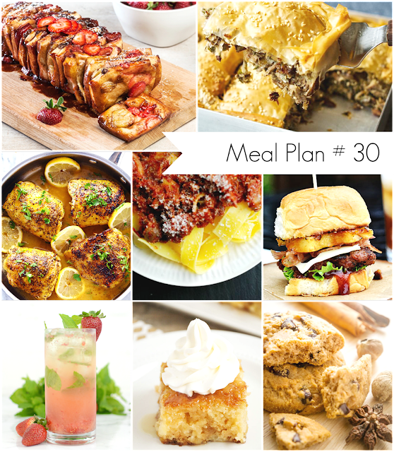 Ioanna's Notebook - Weekly Meal Plan # 30