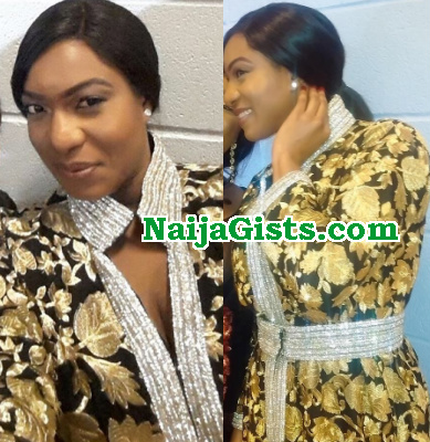 chika ike $5000 dinner dress