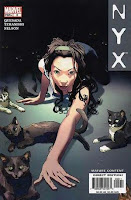 NYX #5 3rd appearance of X-23 comic cover