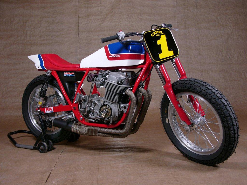 clasic auto motor: Honda CB 750 Tracker