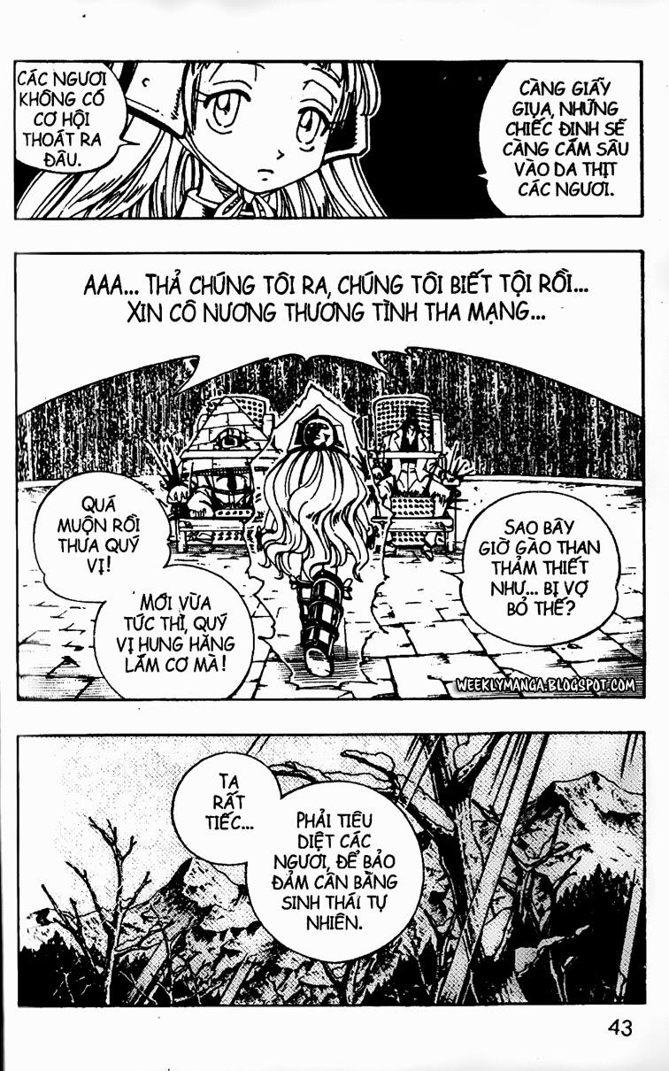 Shaman King [Vua pháp thuật] chap 125 trang 12