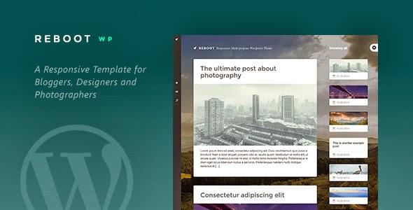 Responsive Multipurpose WordPress Template