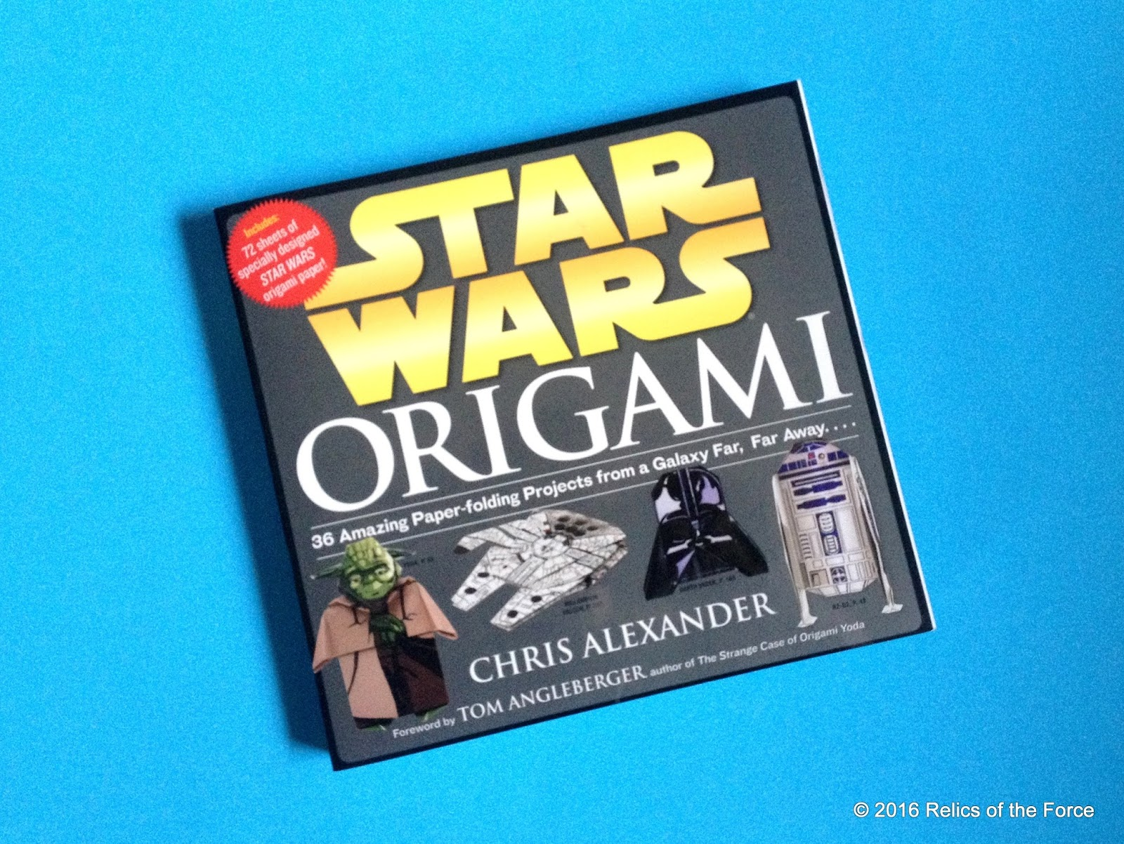 relics of the force star wars origami by chris alexander