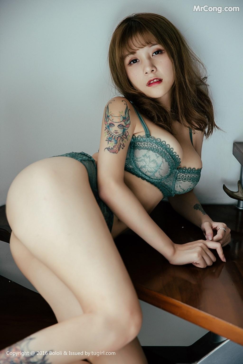Image BoLoli-2017-09-18-Vol.119-Xia-Mei-Jiang-MrCong.com-003 in post BoLoli 2017-09-18 Vol.119: Người mẫu Xia Mei Jiang (夏美酱) (43 ảnh)