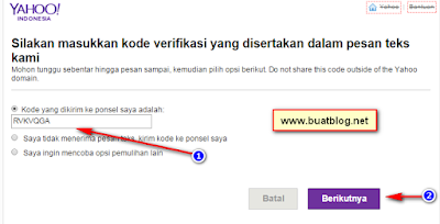 cara mengembalikan password yahoo karena lupa