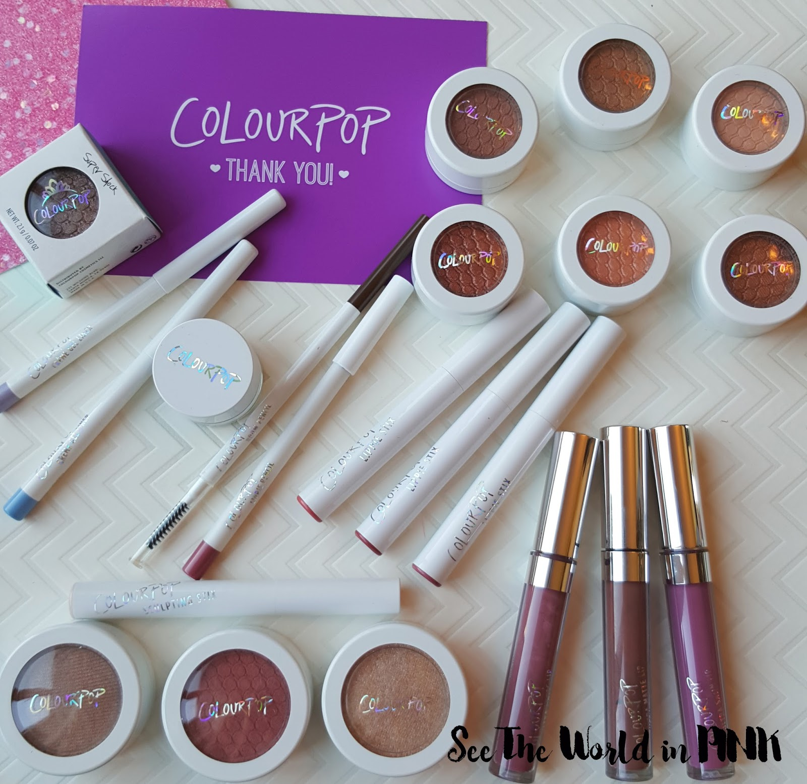 colourpop shopping haul