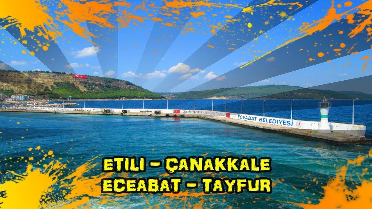 2018/08/17 Etili - Kirazlı - Çanakkale - Eceabat - Bigalı - Kumköy - Yolağzı - Karainebeyli - Tayfurköy