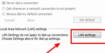 LAN setting