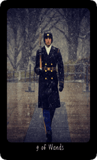 Nine of Wands tarot card image