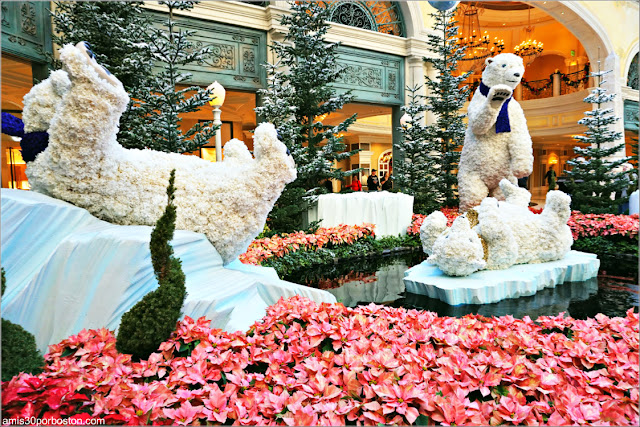 Holiday Glamour 2017 del Hotel Bellagio: Osos Polares