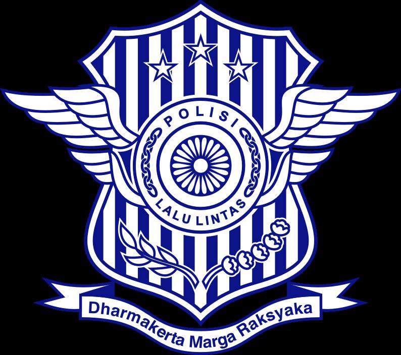 Logo DIT LANTAS - Direktorat Lalu Lintas POLRI (Baru