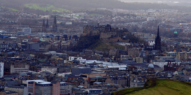 Edinburgh Scotland from Arthurs Seat