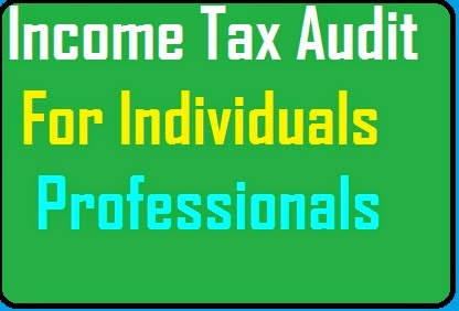 Tax Audit Limit for business & individuals