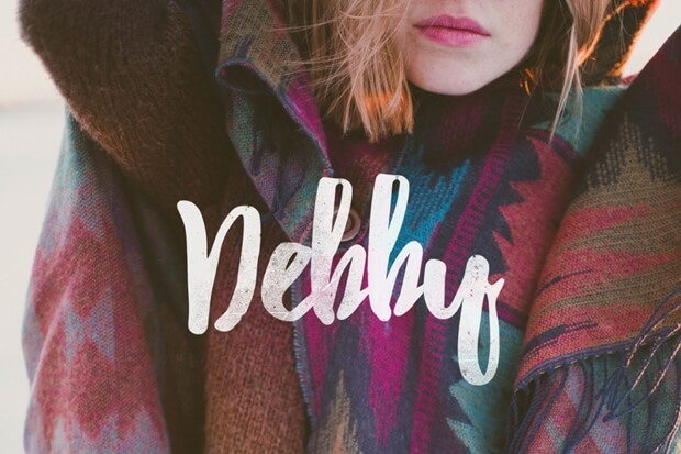 Debby_free font