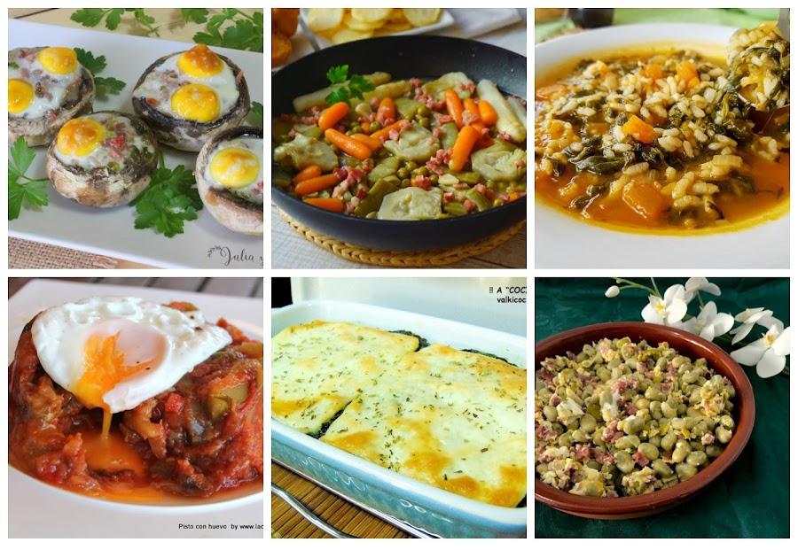 6 rectas de verduras fáciles y apetitosas