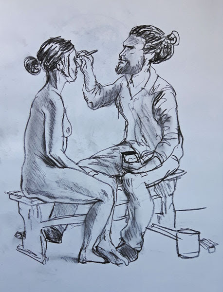 Life Drawing Session 7 : Clowning Around