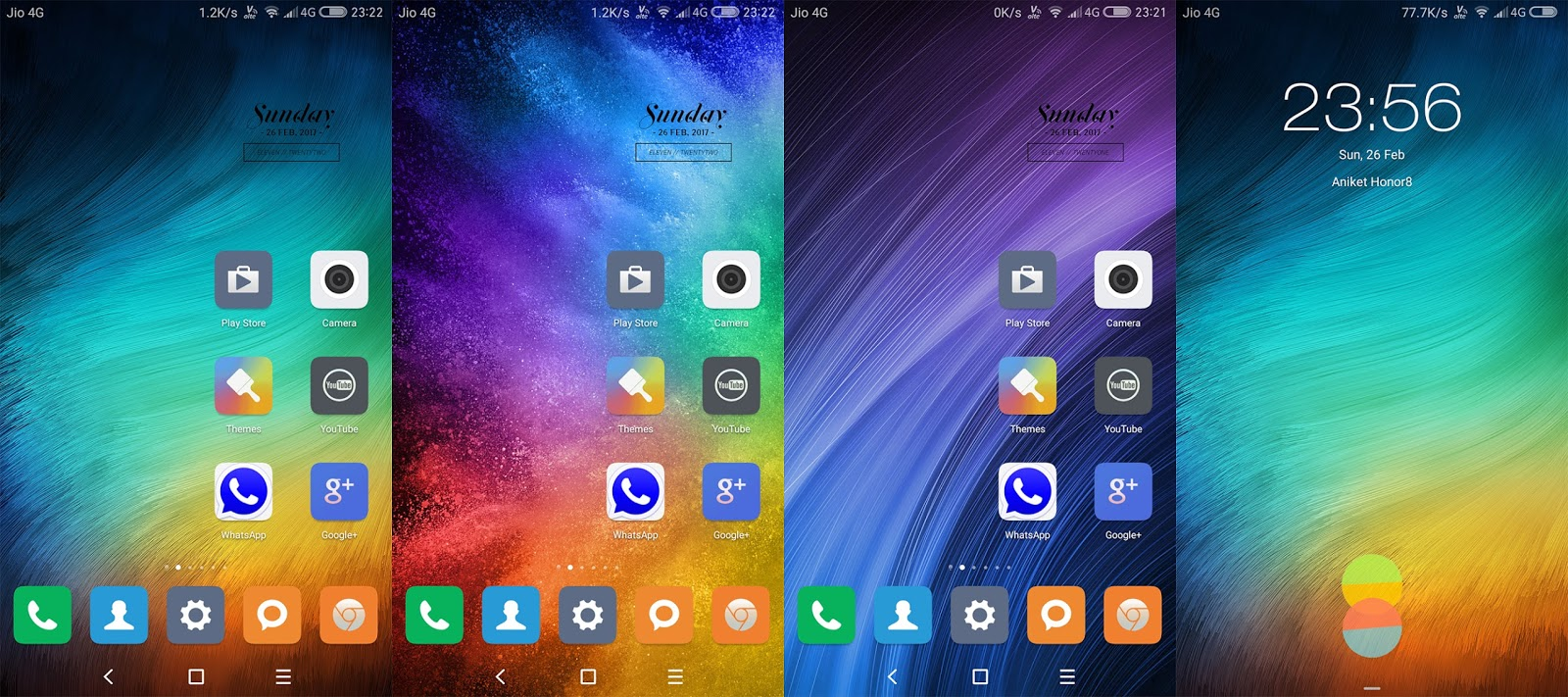 MIUI 8 MIX Theme for Huawei Emui 5 | Blog Raw