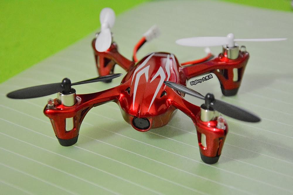 Hubsan X4 H107C迷你四週飛行器開箱及使用分享。