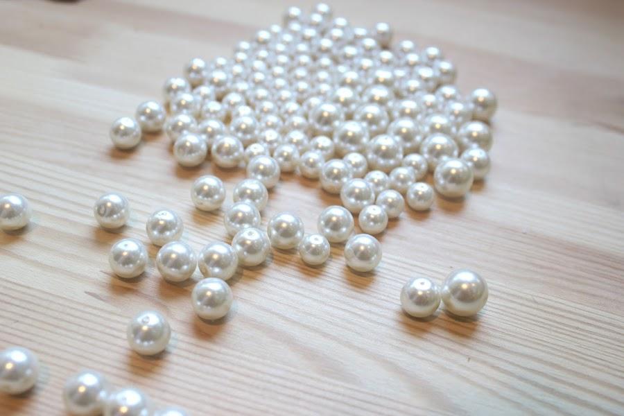 DIY Collar de perlas inspiración Chanel / DIY Pearl Necklace