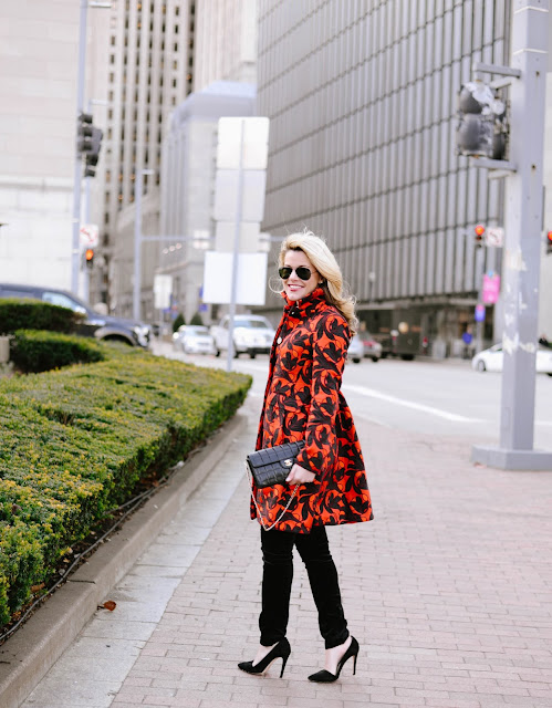 how to style a statement coat
