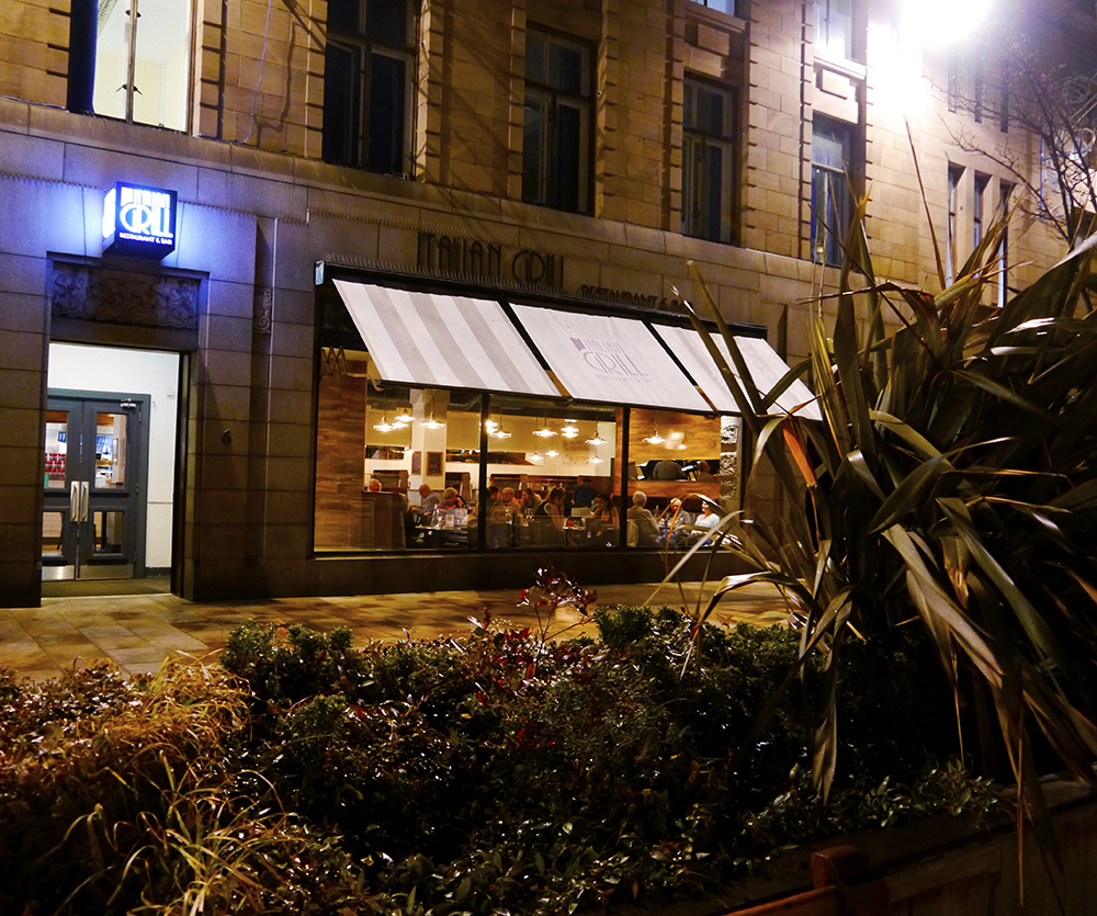 Review of Italian Grill restaurant in Dundee for parties