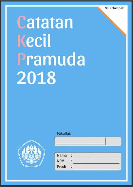 Cover Tugas CKP, Prabu 2018, librarypendidikan.com
