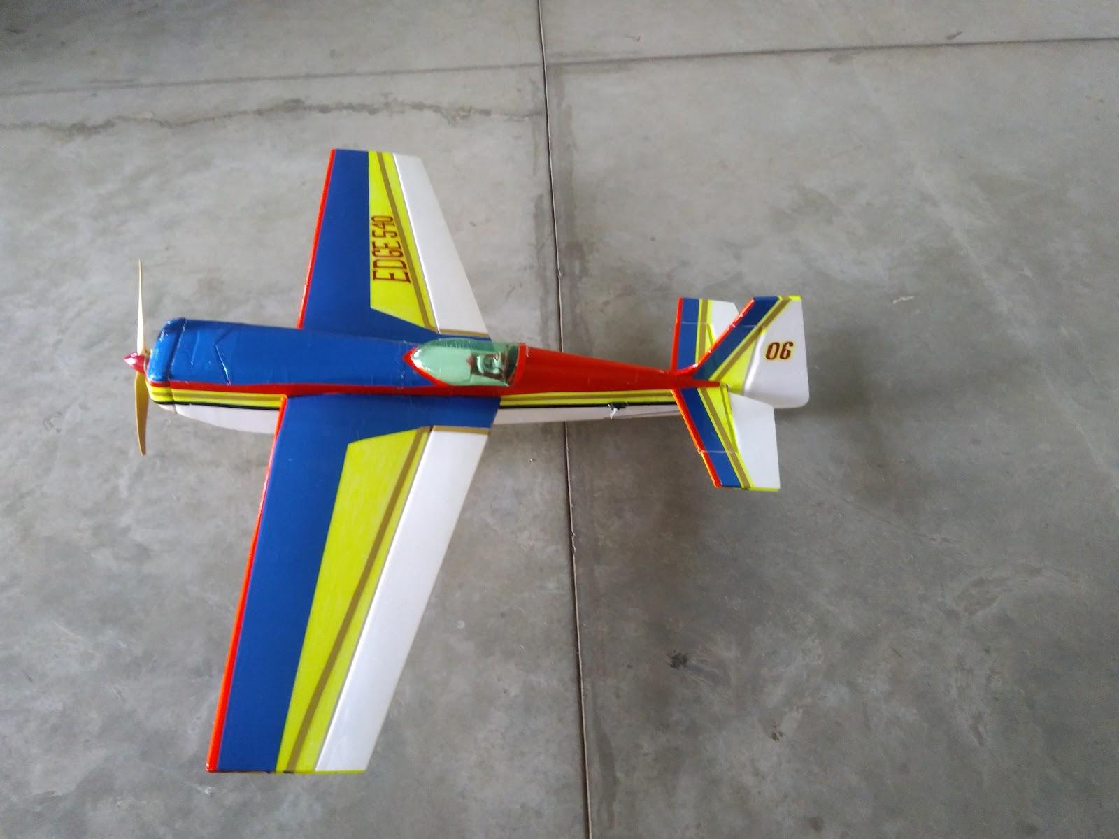 New Edge540 - Aerobatic RC Plane - 6mm Depron Foam   Gforce-RC Planes