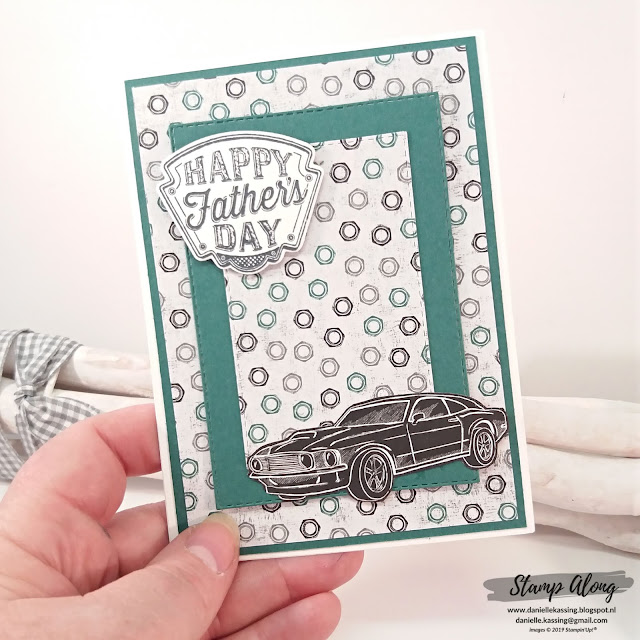 Stampin' Up! Geared Up Garage!