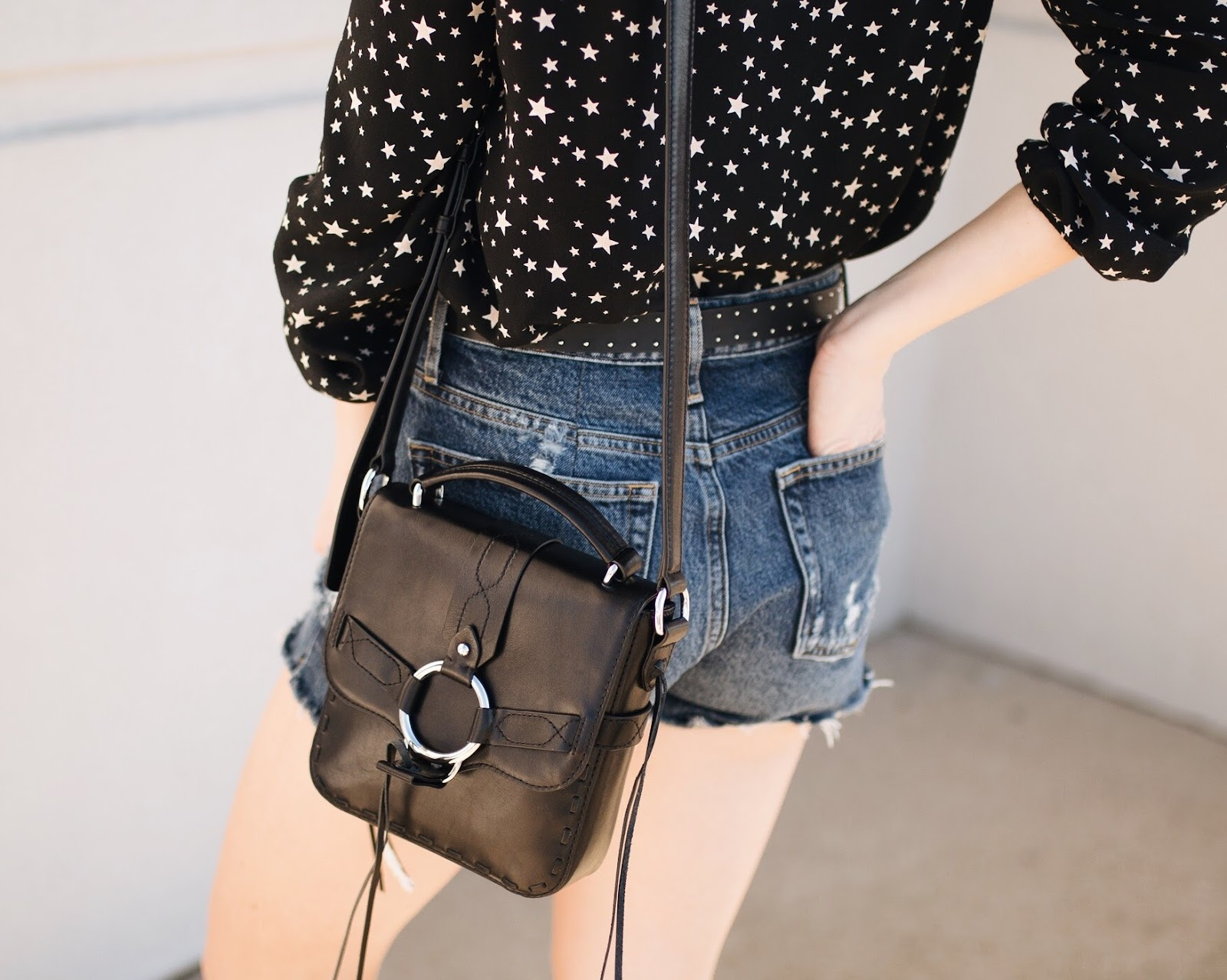 "summer trend: silver hardware | Rebecca Minkoff ""darling"" crossbody bag"