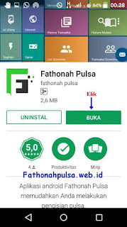 Fathonah pulsa