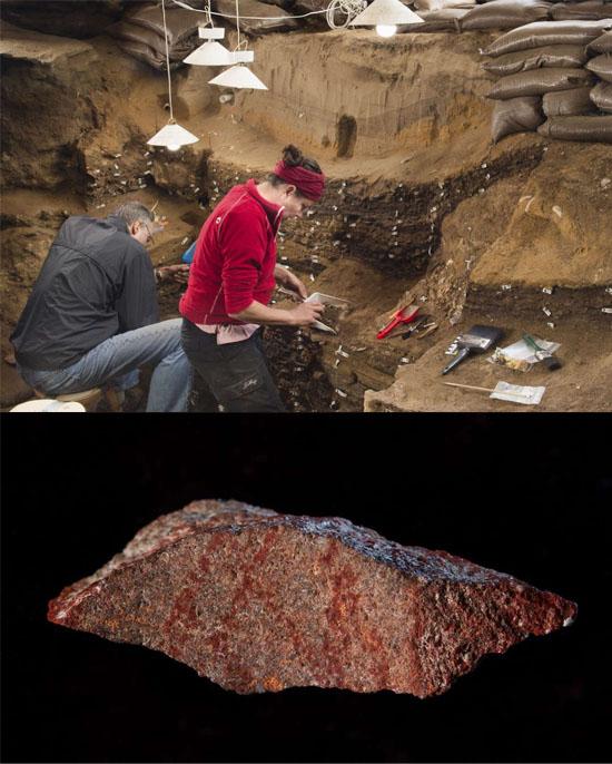 Encontrado desenho mais antigo do mundo em uma caverna na África do Sul - Img