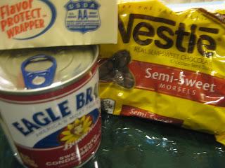 chocolate fudge ingredients