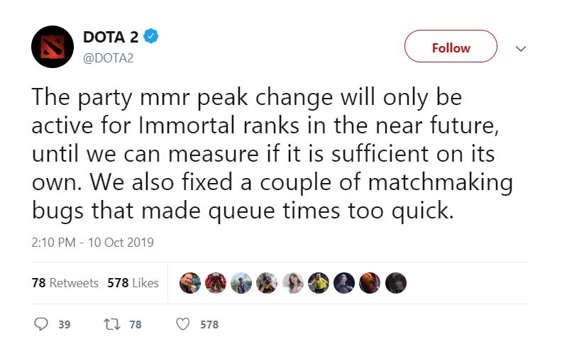 immortal - Những thay đổi về hệ thống Rank của Dota 2 ở bản Update mới nhất