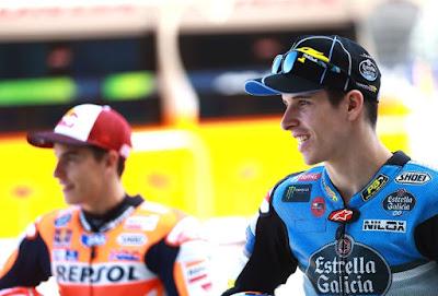 Adik Marquez Belum Berani Naik ke MotoGP