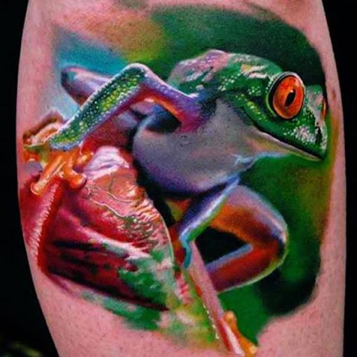 Este impressionante national-geographic-como tatuagem