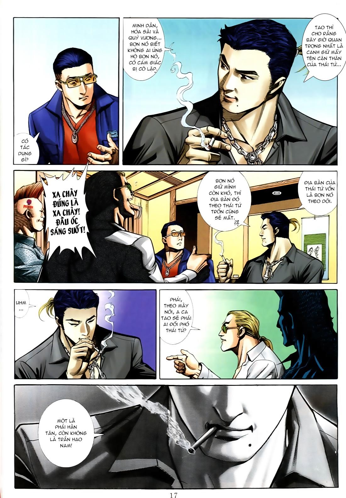 Người Trong Giang Hồ chapter 556: làm khó nam đẹp trai trang 11