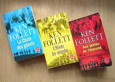 livre de poche, le siècle, ken follett