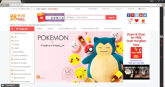 tony moly 28Mall.com pokemon