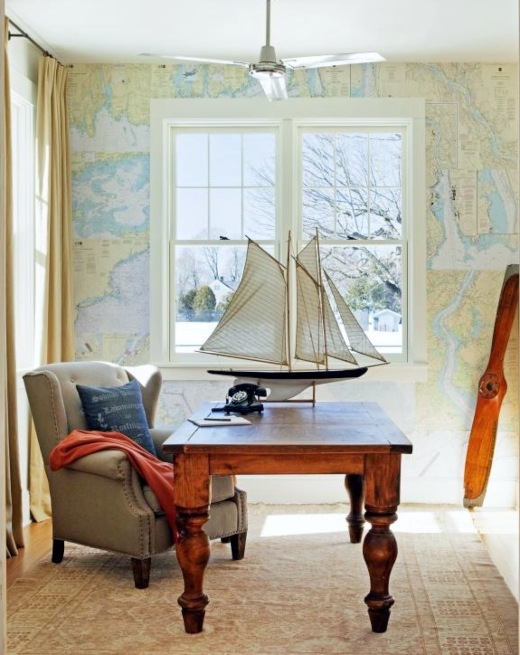 Nautical Office Idea