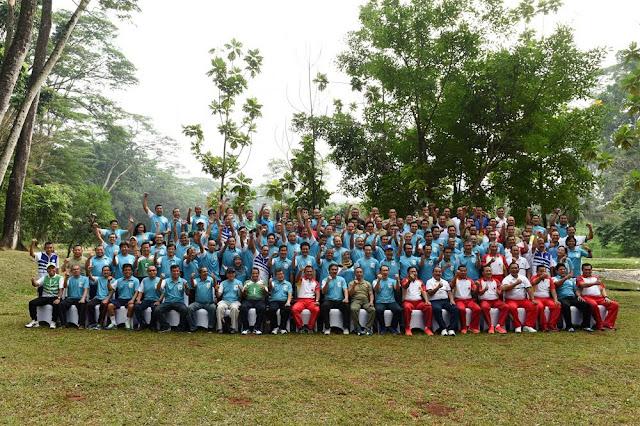 Panglima TNI Gelar Olahraga Bersama Alumni ITB di Mabes TNI
